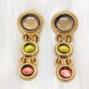 Jewelry - Brushed Gold Earrings